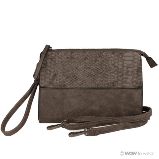 Clutch snake taupe 1
