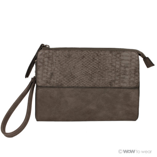 Clutch snake taupe 2