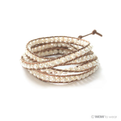 Armband zoetwaterparel 2
