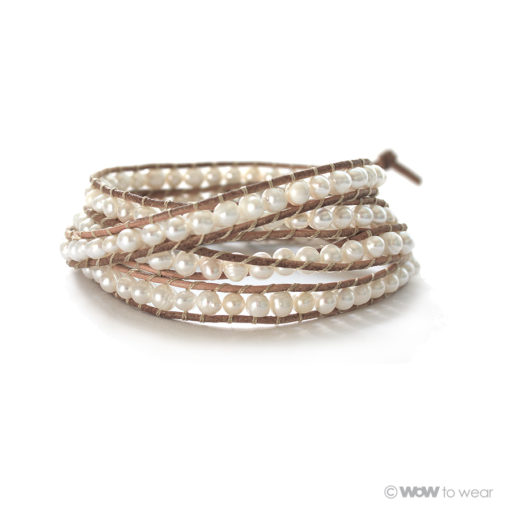 Armband zoetwaterparel 1