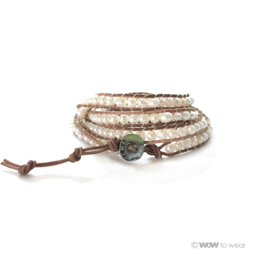 Armband zoetwaterparel 3